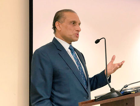 Ambassador-Aizaz-Ahmad-Chaudhry-launched-the-new-website-of-the-Embassy-of-Pakistan-as-part