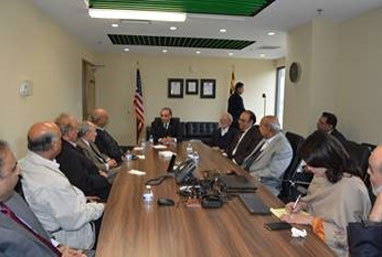 Ambassador-Aizaz-Chaudhry-addressing-the-Board-of-Trustees-of-the-Medical-Clinic-of-the-Muslim-Community-Center-(MCC)