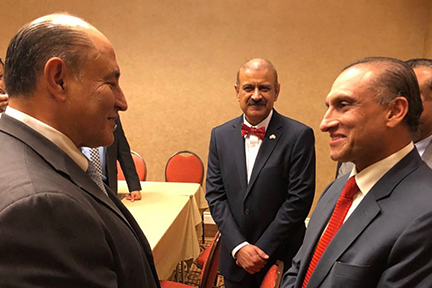Ambassador-Aizaz-Ahmad-Chaudhry-exchanging-views-with-Congressman-Rep.-Jose-Luis-Correa