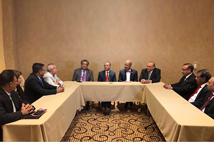 Ambassador-Aizaz-Ahmad-Chaudhry-meeting-with-Board-members-of-National-Association-of-Pakistani-Americans-(NAPA)
