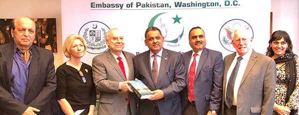 Group-photo-of-Amb.-Akbar-S.-Ahmed-after-the-launching-ceremony-of-his-book