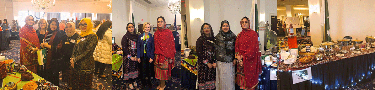 Air-Attache's-wife-represented-Pakistan-at-International-Show
