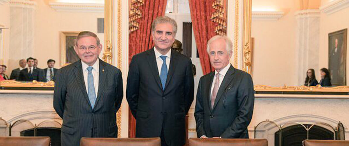 Foreign-Minister-Shah-Mahmood-Qureshi-meeting-with-the-leadership-of-the-Senate-Foreign-Relations-Committee