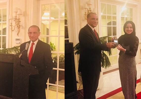 aizaz-chaudhry-giving-award-daniya-hassan