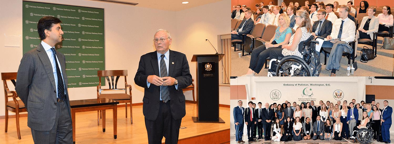 Ambassador-Ali-J.-Siddiqui-with-graduate-students-from-Germany