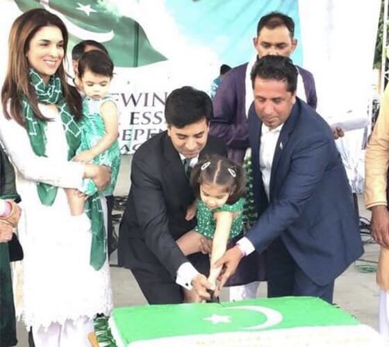 Ambassador-Ali-Siddiqui-cutting-cake