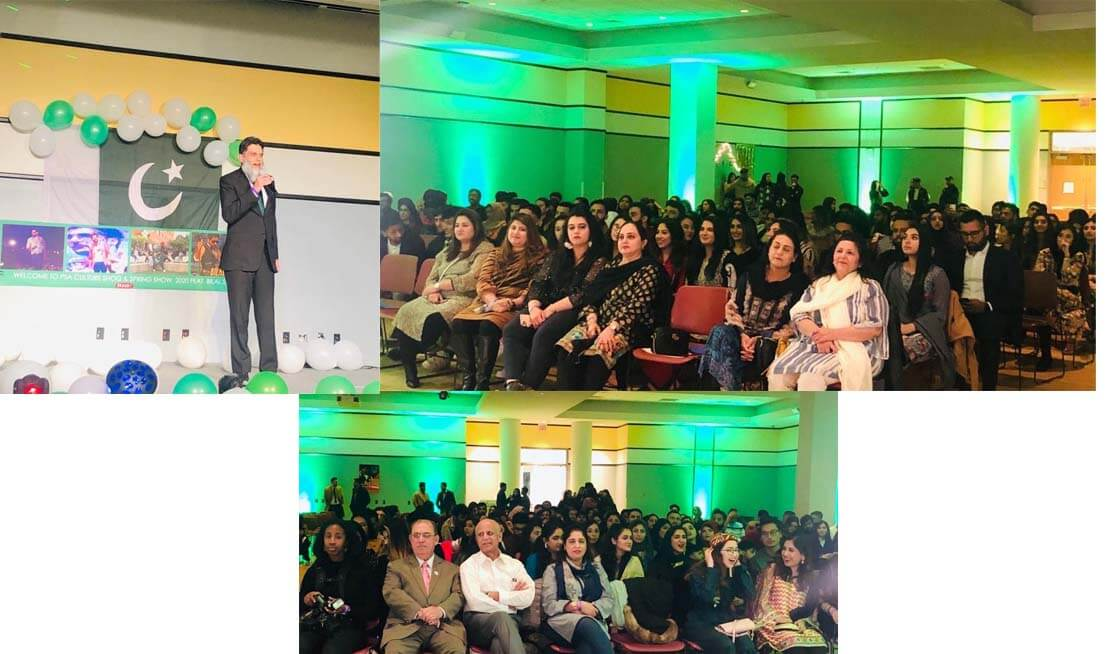 DCM Ubaid Nizamani interacted with a large number of Pakistani-American students 2020